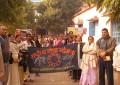 स्वामी विवेकानन्द के जन्म दिवस पर छात्राओं ने निकाली जागरूकता रैली