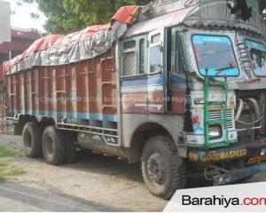 गुप्त सूचना के आधार पर बड़हिया पुलिस ने जब्त किया एक ट्रक गेंहू