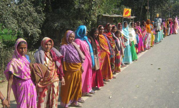 ग्रामीण क्षेत्र की महिलाओं में था खासा उत्साह