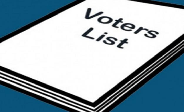 मतदाता सूची में अनियमितता का लगाया आरोप